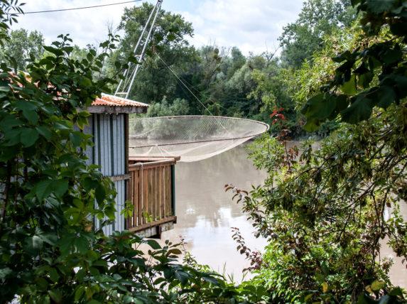 balade à vélo rive droite Bordeaux cabanes