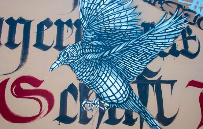 collectif de street-art Monkeybird