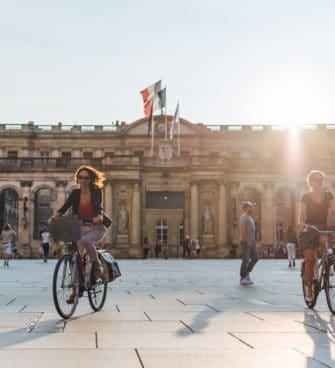 faire du vélo à Bordeaux