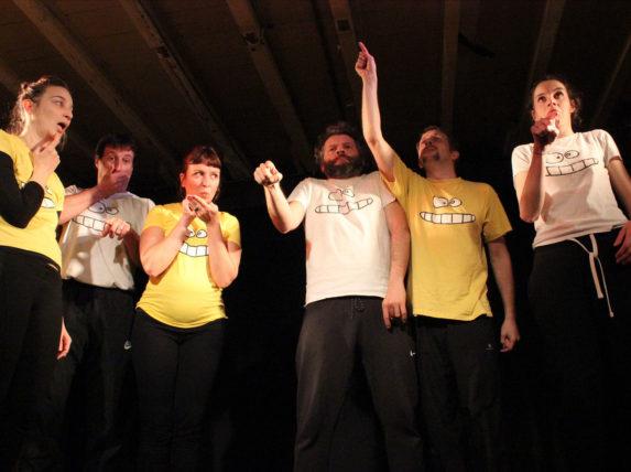 Théâtre d'improvisation à Bordeaux - Restons calmes