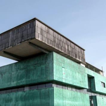 Massimiliano Fuksas : maison des Arts, esplanade des Antilles
