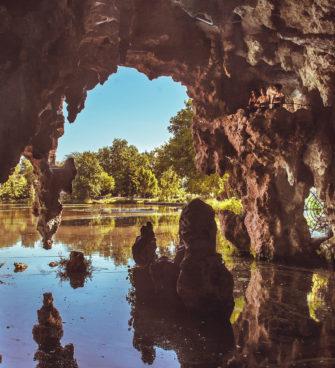 Parc de Majolan et ses grottes