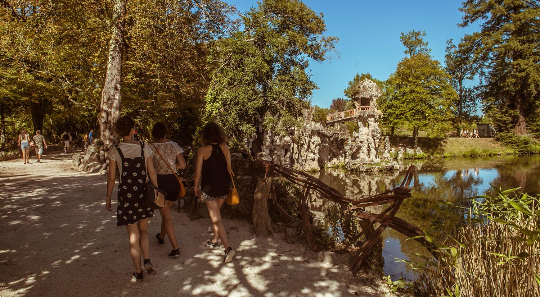 Le parc de Majolan – Romantique et atypique