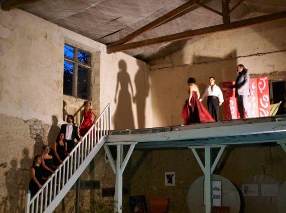 Opéra déambulant au château de Sallegourde