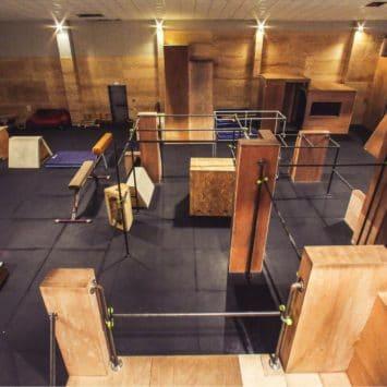 Simiiforme - salle de Parkour Bruges -