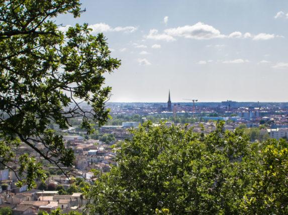 Vue du Parc du Cypressat - Rive droite - Bordeaux