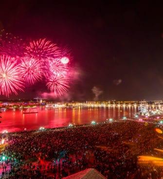 Bordeaux fête le vin 2018 - feu d'artifice