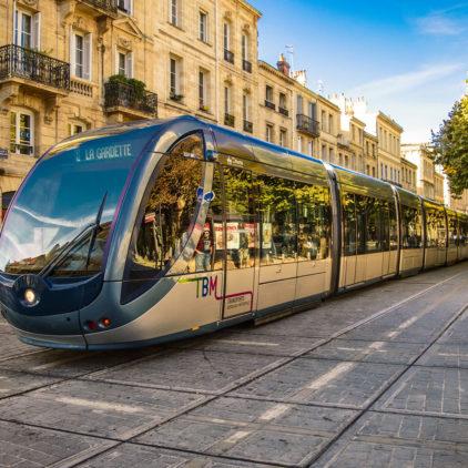 Balades en tram à Bordeaux