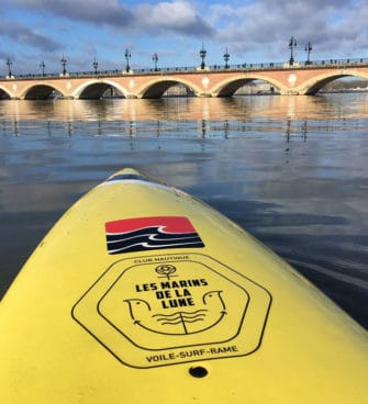 Stand up paddle sur la Garonne