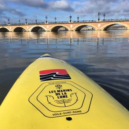 Stand up paddle sur la Garonne