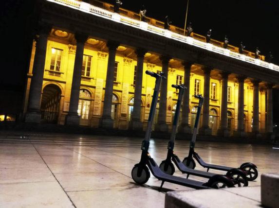 trottinettes électriques à Bordeaux