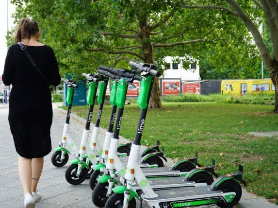vélos et trottinettes électriques à Bordeaux Lime