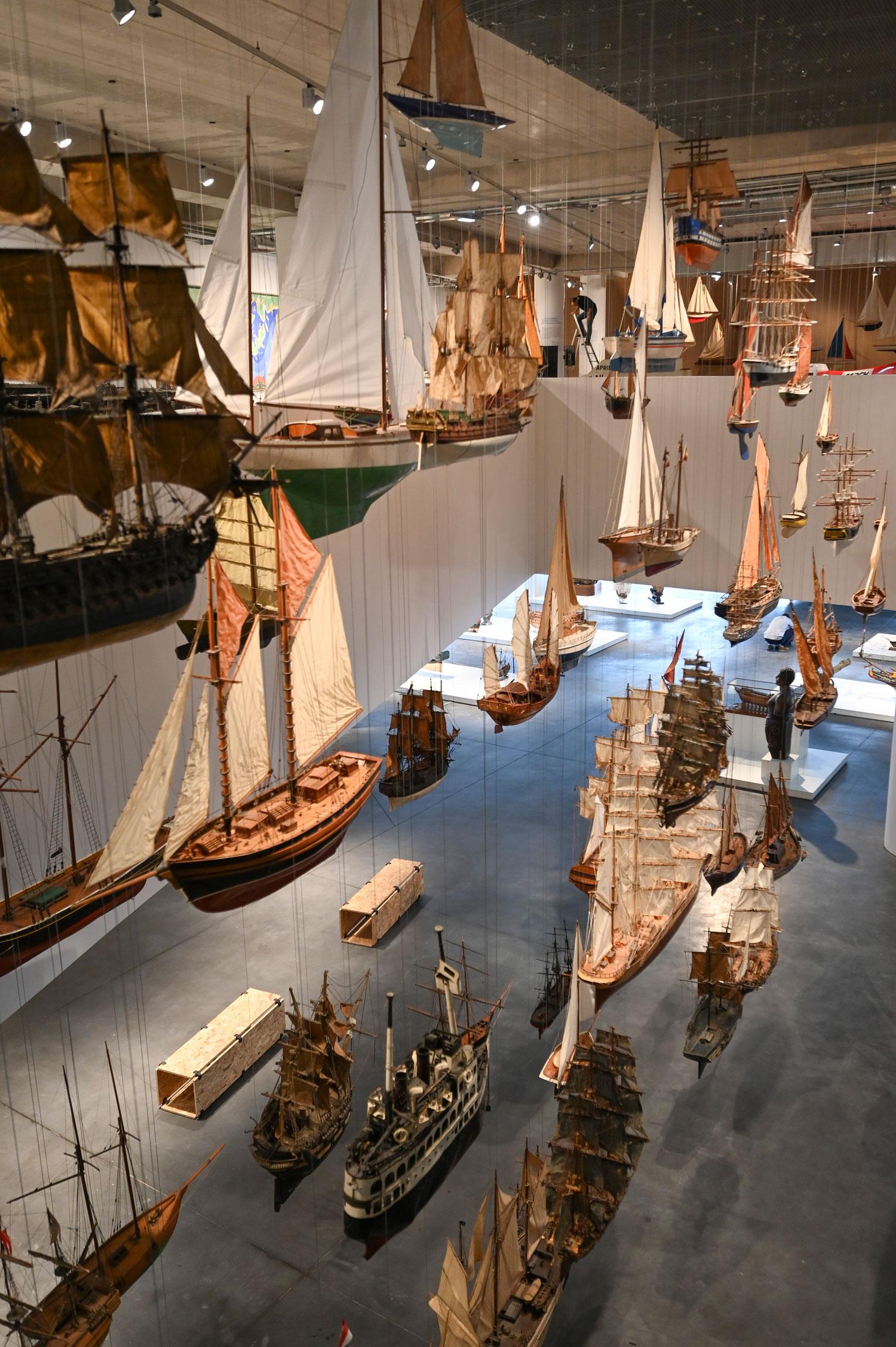 Bienvenue à bord du Musée Mer Marine