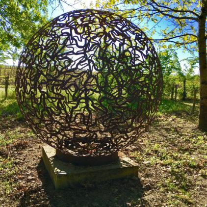 art contemporrain dans le vignoble bordelais