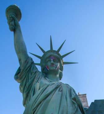Statue de la liberté à Bordeaux