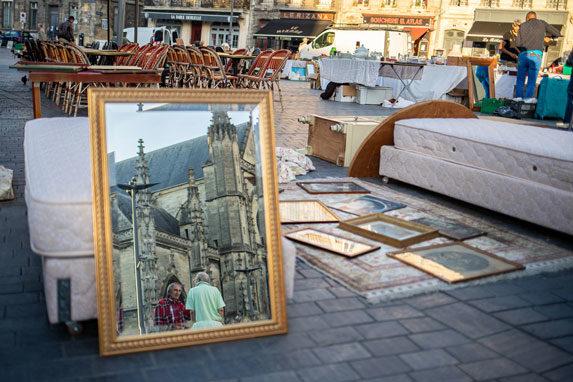 Les marchés et brocantes place saint-michel