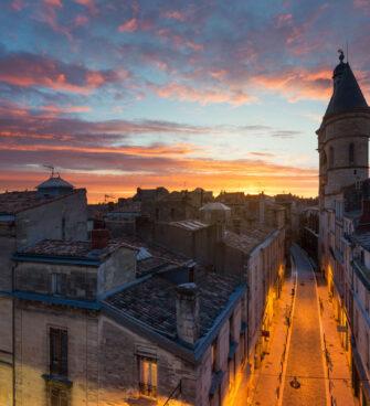 Les couleurs orangées de Bordeaux