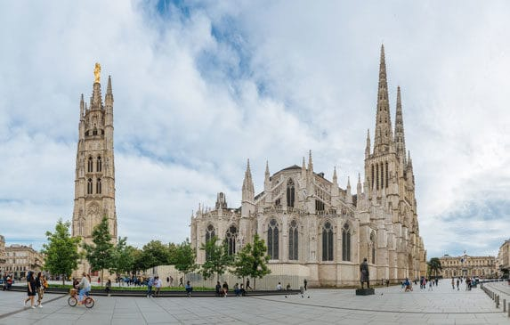 Cathédrale Saint-André place Pey Berland à Bordeaux