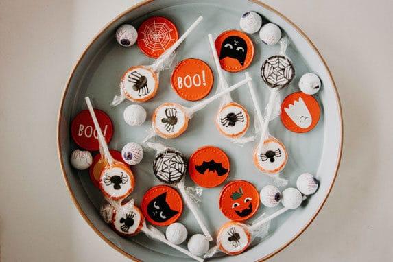 bonbons pour Halloween à Bordeaux