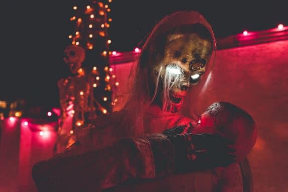 Soirée d'épouvante pour Halloween