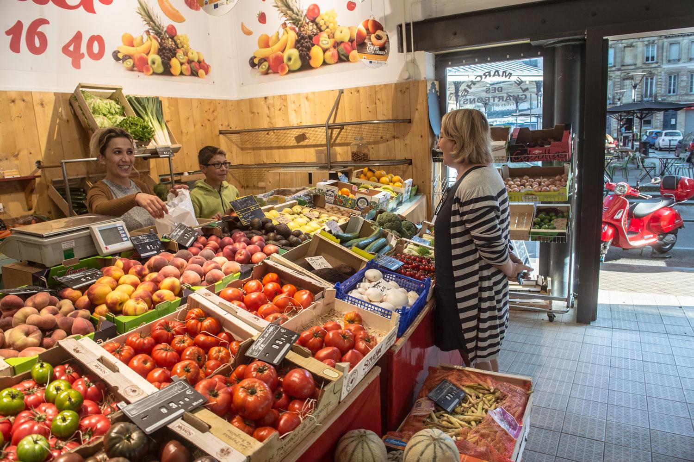 Trouver des produits frais et locaux sur Bordeaux