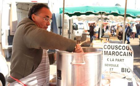 Couscous de Jamel au marché de Gradignan