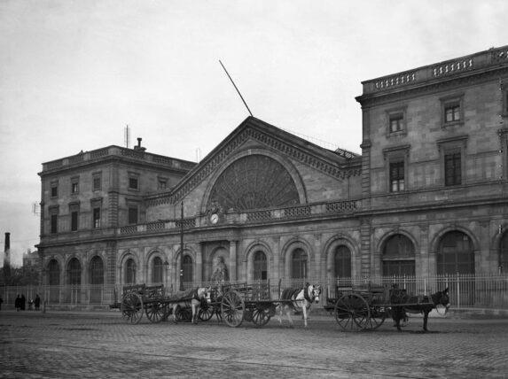 La gare d'orléans, rive droite de bordeaux avant