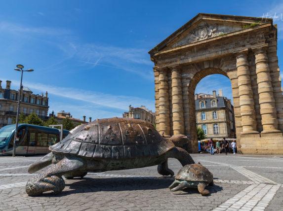 Place de la victoire à Bordeaux aujourd'hui