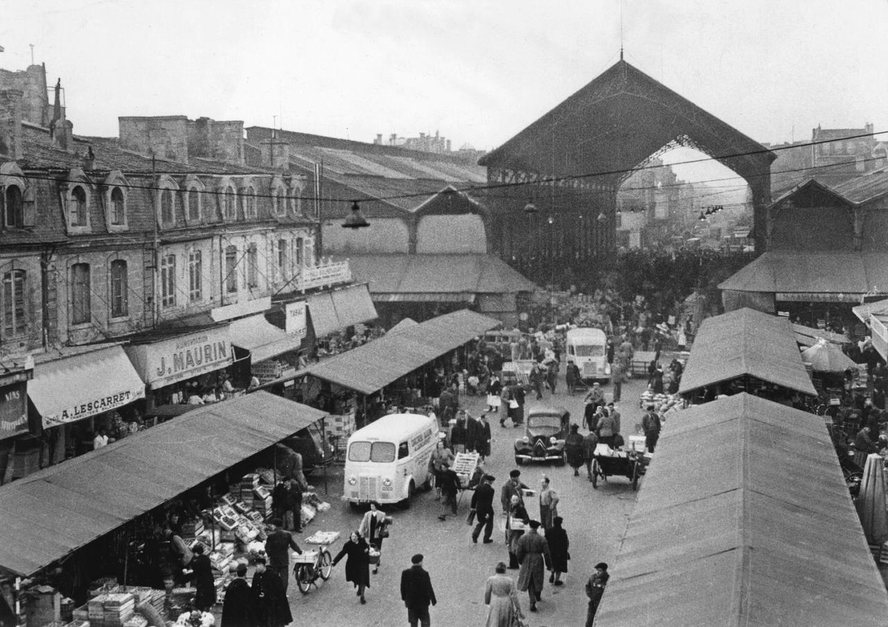Les halles et marchés hier et aujourd'hui