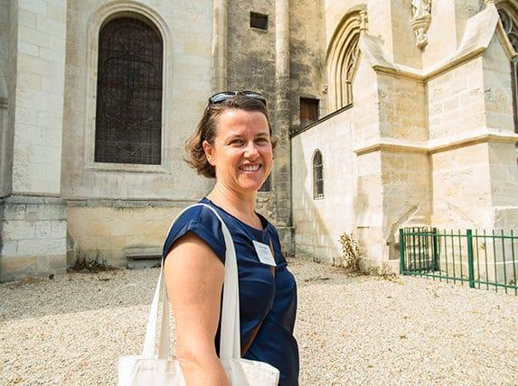 Agathe Corre, une guide passionnée d'histoire