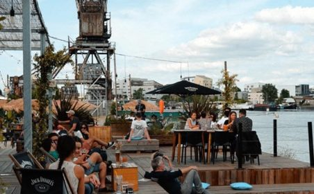 découverte d'un marché plein air à l'Iboat Bordeaux ce week-end