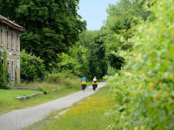 balade à vélo rive droite Bordeaux en famille ou en couple