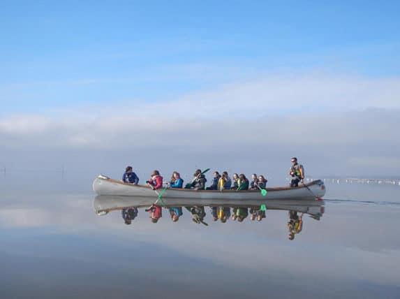 combiné réserve ornitho et canoé collectif
