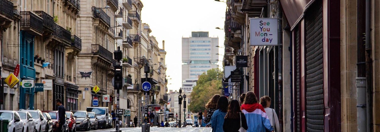 week-end animé dans les rues de Bordeaux