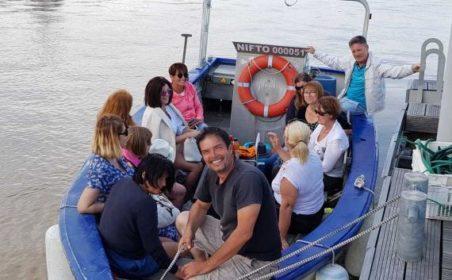découverte en plein air sur le bateau du pêcheur de bordeaux