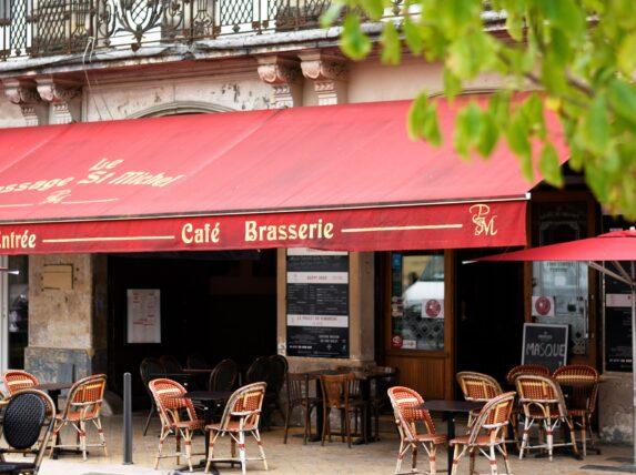 café brasserie le passage saint michel bordeaux