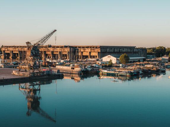 l'histoire de la base sous-marine à Bordeaux