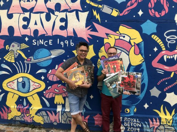 total heaven record store Bordeaux