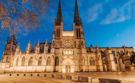 cathédrale décembre noël bordeaux