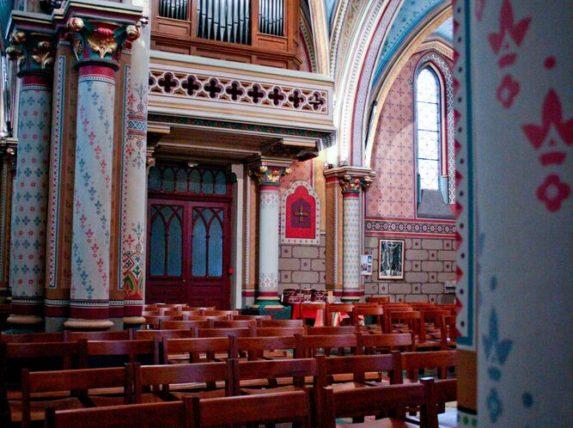activités décembre bordeaux église saint romain