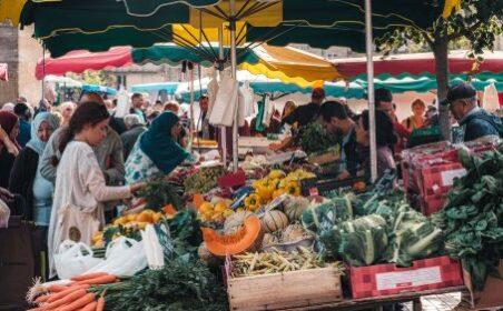 week-end de vacances février à Bordeaux marché