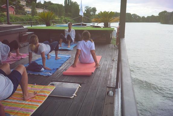 méditer en plein air à Bordeaux