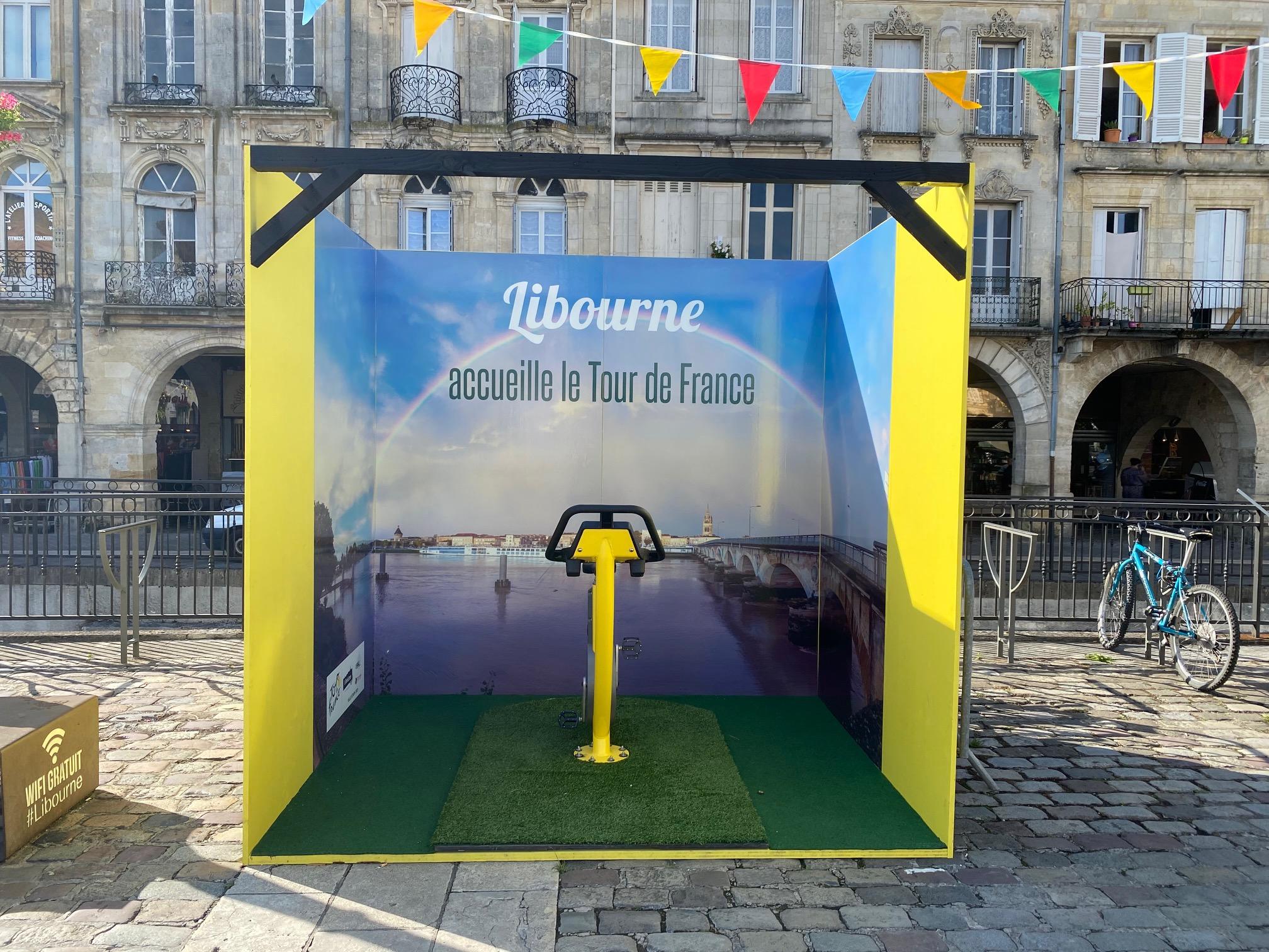 Libourne à l'heure du Tour de France 2021