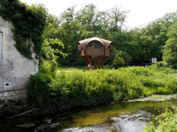 refuge en bois hébergements insolites à Bordeaux