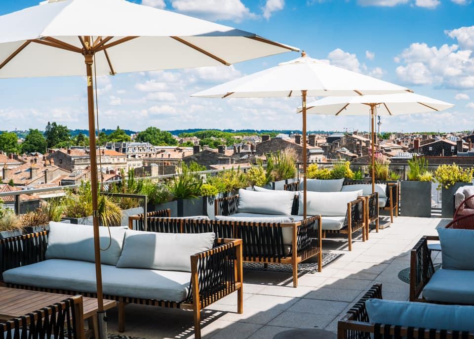Terrasses éphémères, rooftops et guinguettes : les hotspots de l'été à Bordeaux
